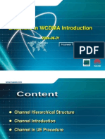 Channel Structure in WCDMA