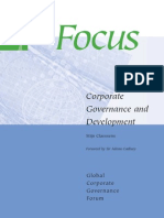 Jurnal - Claessens - Corporate Governance and Development
