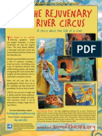 Promotional flyer for THE REJUVENARY RIVER CIRCUS