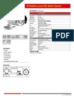 Hikvision Bullet DS 2CE1512P IR
