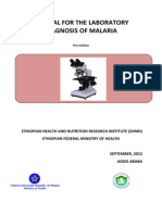 Manual for the Laboratory Diagnosis of Malaria.
