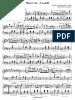 Walzer Chopin
