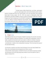 bandra worli sealink | Deep Foundation | Civil Engineering