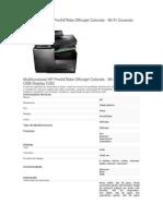 Multifuncional HP ProX476dw Officejet Colorida