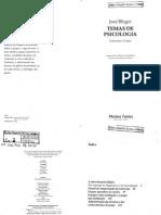 Bleger - Temas de Psicologia