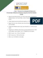 Matrias Para Testes - Director de Alfandega de Espargos Mfp