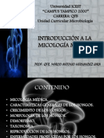 Introduccion a La Micologia