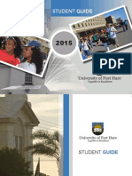 Fort Hare Student Guide 2015