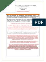 Comentc3a1rios c3a0 Prova de Direito Processual Civil Aplicada Pela Oab