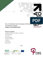 Risco Vulnerabilidade Social e Estrategias Planeamento Relatorio Final