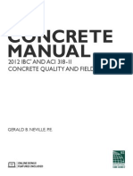 Concrete Manual Toc