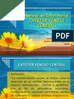 cateter venoso centrall