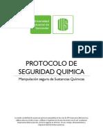 Protocolo de Seguridad en El Laboratorio