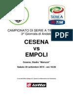 Cesena Empoli 0