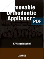 Removable Orthodontic Appliances - Vijayalakshmi