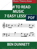 How to Read Sheet Music in 7 Easy Lessons