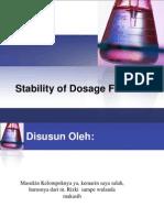 Peresntasi Stabilitas Obat Kel. 2