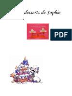 (2) Les Desserts de Sophie