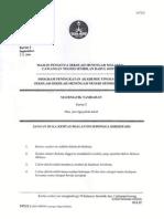 Trial N. Sembilan 2014 SPM Add Math K2 dan Skema [SCAN]