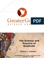 The Science and Practice of Gratitude