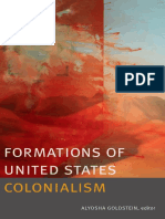 Formations of United States Colonialism edited by Aloysha Goldstein