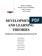Developmental Theories Psycho