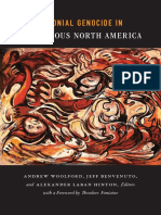 Colonial Genocide in Indigenous North America edited by Woolford, Benvenuto, and Hinton