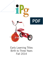 Fall 2014 IPG Early Learning Birth-3 Years Titles