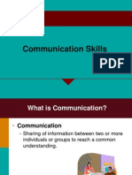 Communication Skills 05.09.13