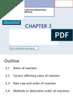 Chapter 3 Kinetic