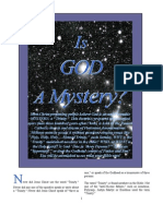 Is God a Mystery?
