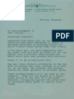 AMORC Application, Letters, Planetarium Picture, Catalog (30s and 40s)