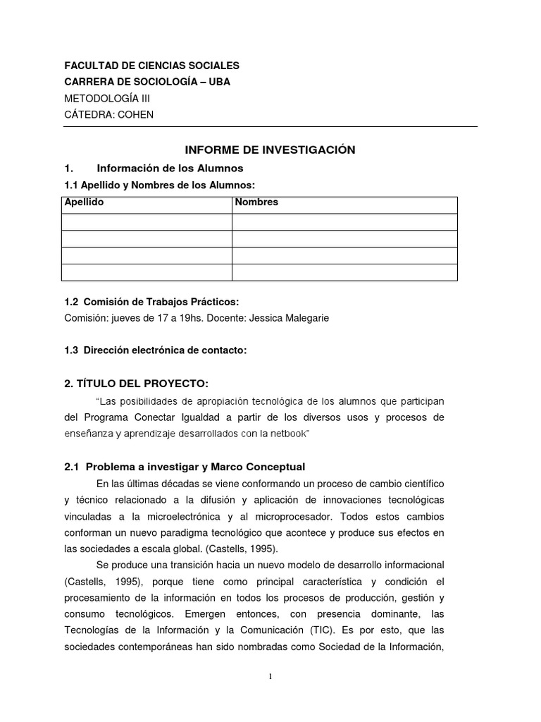 Informe Cualitativo metodologia iii