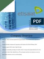 PESTEL Factors for Etisalat