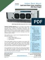 Paradise Datacom Indoor GaN 3RU SSPA 212463 RevC