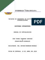 Manual de Virtualizacion Con Virtualbox