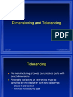 LECT9- Dimen and Tolerancing