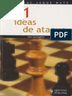 101 IDEAS DE ATAQUE EN AJEDREZ - Joe Gallagher.pdf