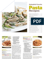 EatingWell Healthy Pasta Recipes Cookbook
