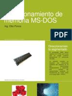 Direccionamiento de Memoria MS-DOS