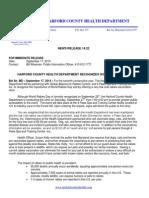 News Release WorldRabiesDayPetVaxClinic 2014
