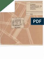 Calles. Problemas de estructura y de diseño