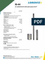LORENTZ PS9k C-sj8-44 Pi Pt Ver301058