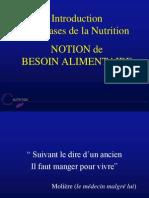 Origine Besoins Nutritionnelle (NXPowerLite)