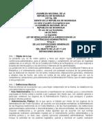 Ley 350, Contencioso Administrativo