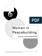 Womens Peacebuilding Manual