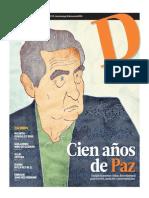 14-03-30 Cien Años de Paz. Octavio Paz 01