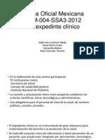 Norma Oficial Mexicana NOM-004-SSA3-2012.pptx
