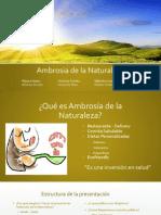 Ambrosia de La Naturaleza (1)