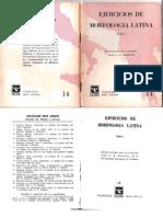 Morfologia Latina Tomo i